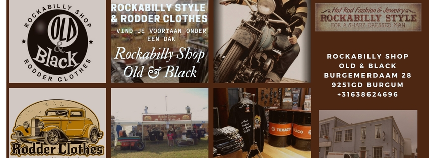 Rockabilly Shop Old& Black